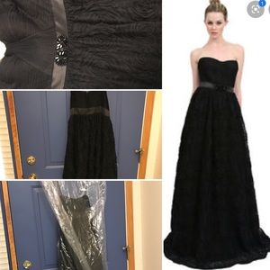 Black Adrianna Papell Gown